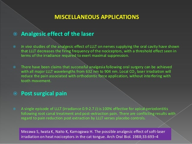 application of laser in dentistry ppt