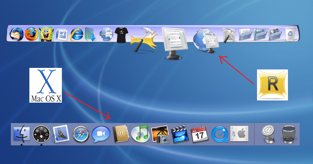 how do i add the applications folder to the dock