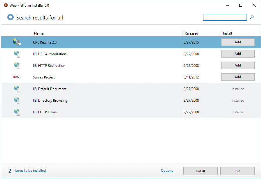 microsoft application request routing version 2 for iis 7