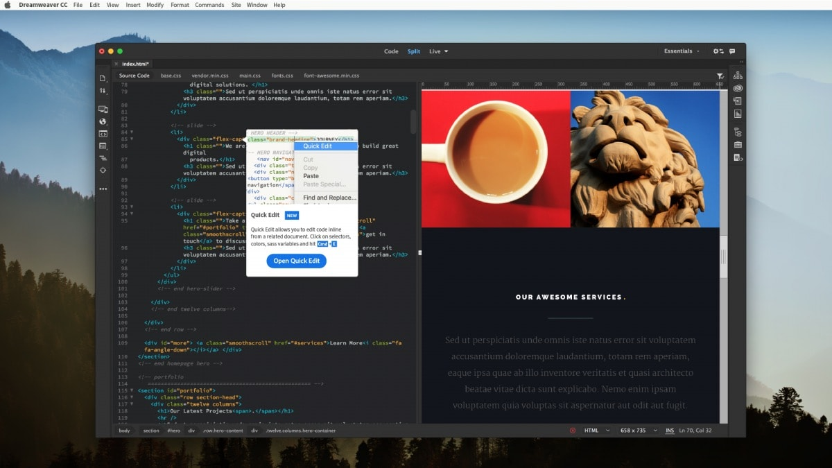 adobe application manager opens creative cloud