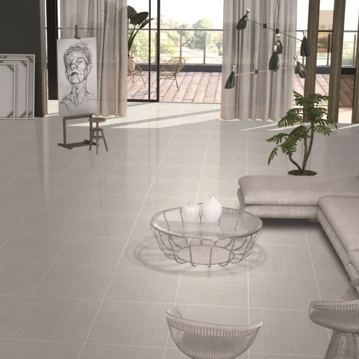 application suitability of polished porcelain tiles