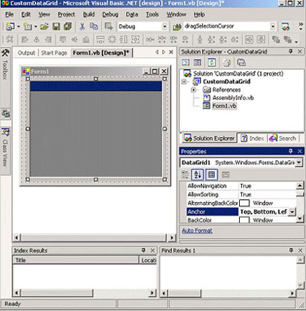 windows application in vb net examples